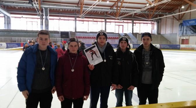Eisschnelllauf – das Landesfinale knapp verpasst