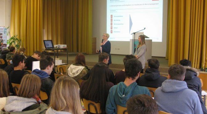 Tipps für die Ausbildung – Berufswahlseminar und Elternabend an der GLS