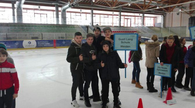 Alle Jahre wieder – 2. Platz beim Bezirksfinale im Eisschnelllauf