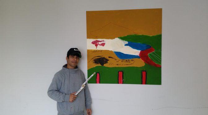 Bunter Schuljahresanfang – Flüchtlingsschüler malen Bilder für das Schulhaus der GLS