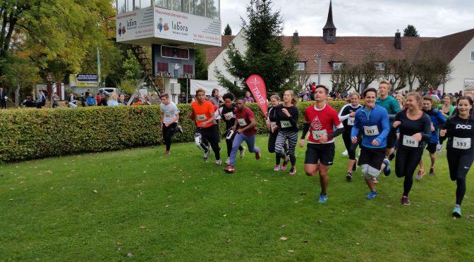 Gustl-Lang-Schüler erfolgreich beim Crosslauf