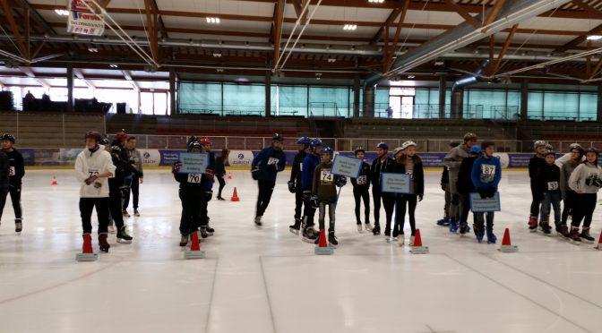 Eisschnelllauf Bezirksmeisterschaft 2018 in Mitterteich
