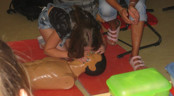Erste Hilfe Kurs für Schüler