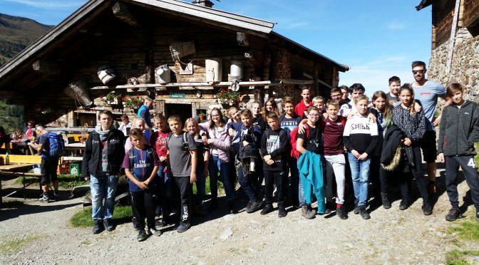Tolle Erlebnistage 2018 der Gust-Lang-Schule in Tirol