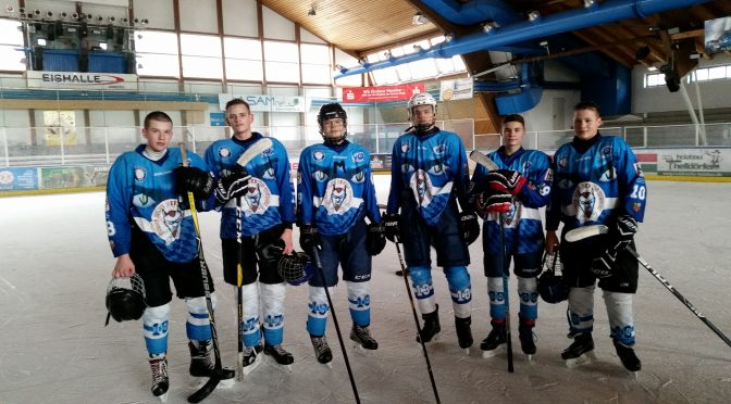 Eishockey in Amberg – GLS Spieler in Topform