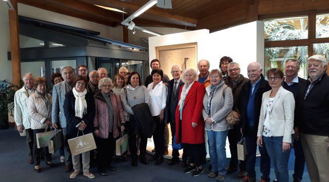 Förderverein der Gustl-Lang-Schule Weiden besichtigt die Höhbauer GmbH