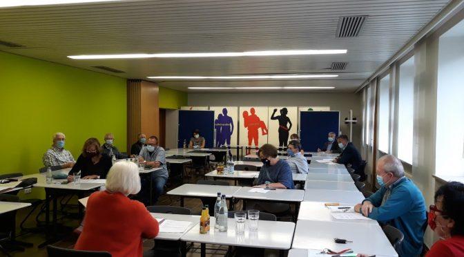 Jahreshauptversammlung des Fördervereins unter Coronabedingungen