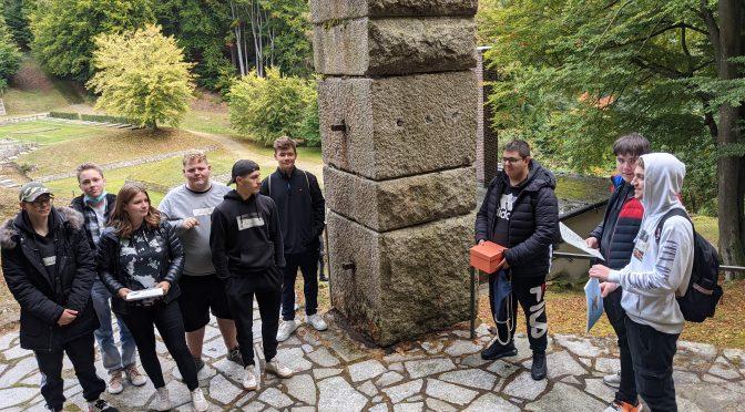 Projekttag der 10. Klassen der Wirtschaftsschule Weiden zur KZ-Gedenkstätte Flossenbürg
