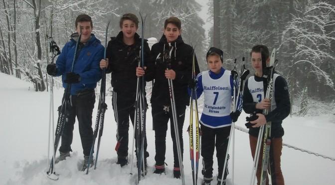 Kreismeisterschaft im Skilanglauf 2016