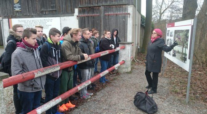 Exkursion nach Mödlareuth mit den 10. Klassen