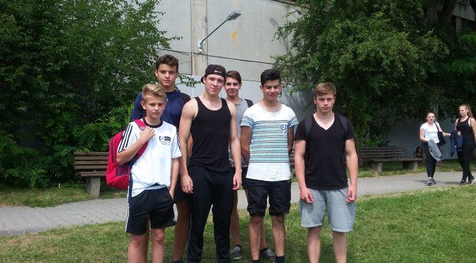 Kreismeisterschaft in der Leichtathletik – 2. Platz