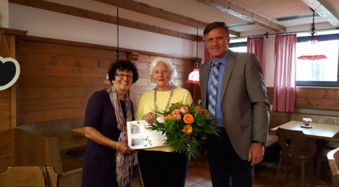 Karin Schwarz feiert Jubiläum:  Sie ist seit 25 Jahren Vorsitzende des Fördervereins