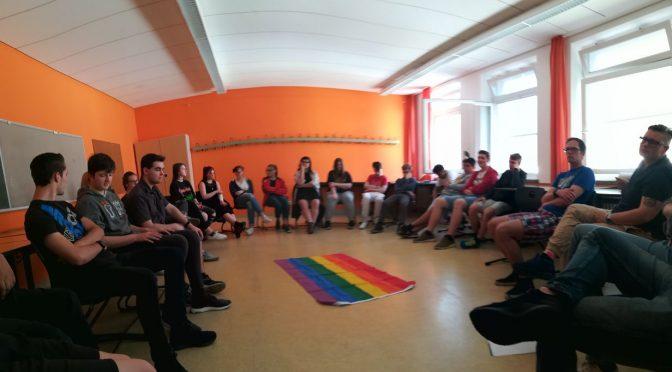 Anderssein ist ganz normal – Workshop gegen Homophobie