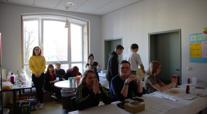 Schülerinnen und Schüler der Wirtschaftsschule führen eine Veranstaltung erfolgreich zum Erfolg
