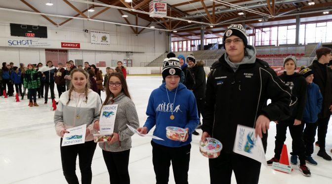 Eisschnelllauf Bezirksmeisterschaft 2019 in Mitterteich